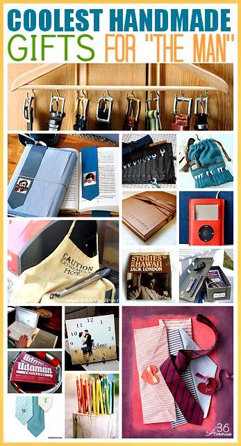 Handmade Gifts for Men.