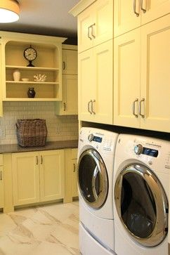 Gull Lake Residence Highfield traditional laundry room
