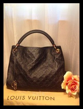 Louis Vuitton Artsy MM Blue Totes M93448 Is Cheap Sale Of High Quality And Big Discount!