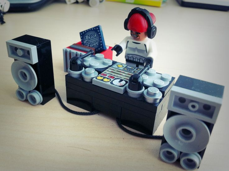 My LEGO DJ.. Wonder if he's available for weddings.. Giggle.