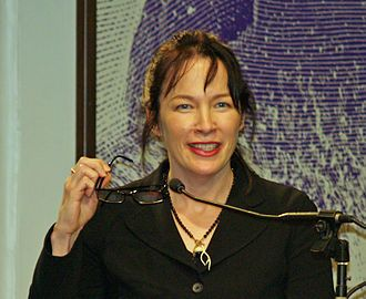 "Author of  ""The Lovely Bones"", Alice Sebold in 2007.  ""My name was Salmon, like the fish; first name, Susie. I was fourteen when I was murdered on December 6, 1973."" This is the first sentence but it is Susie's voice that tells of her brief life, her tragic death, and the decade that follows as she sees it from heaven.  A Good Book See Review at Connectedeventsmatter.com"