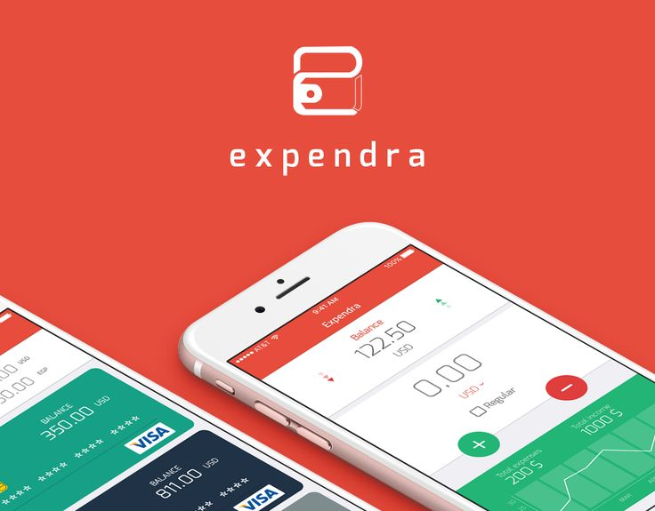 """Check out this @Behance project: """"Expendra - Mobile App""""…"""