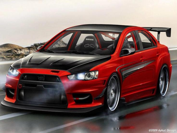EVO X Red
