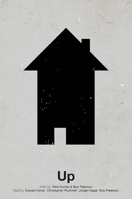 Yiw – This is a very constraint picture of a house. This poster is really creative as the picture is metaphor. By seeing this poster without the word 'up', I have no idea that this simple is also represent the up arrow. Therefore, this is really clever design that plays with people mind which clearly shows that we trying to connect word and picture together.