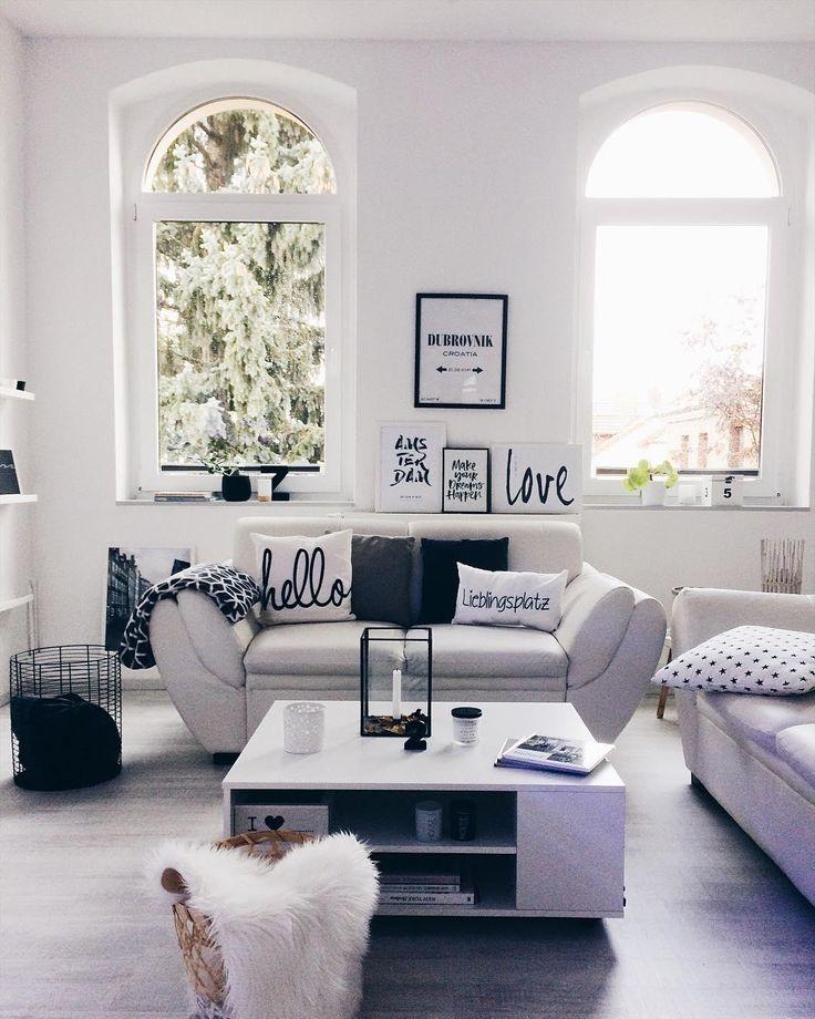 1293 besten wohnzimmer bilder auf pinterest aufpassen - Stylische bilder wohnzimmer ...