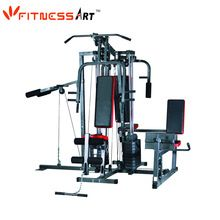 [Body Building] 4 Station Home Gym Equipment Multi Gym Trainer HGM2004A