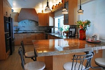 Southwestern kitchen - eclectic - kitchen - los angeles - Fran Kerzner- DESIGN SYNTHESIS
