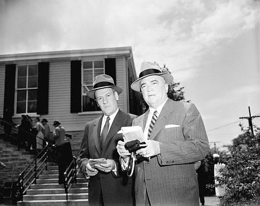 Clyde Tolson and J.Edgar Hoover