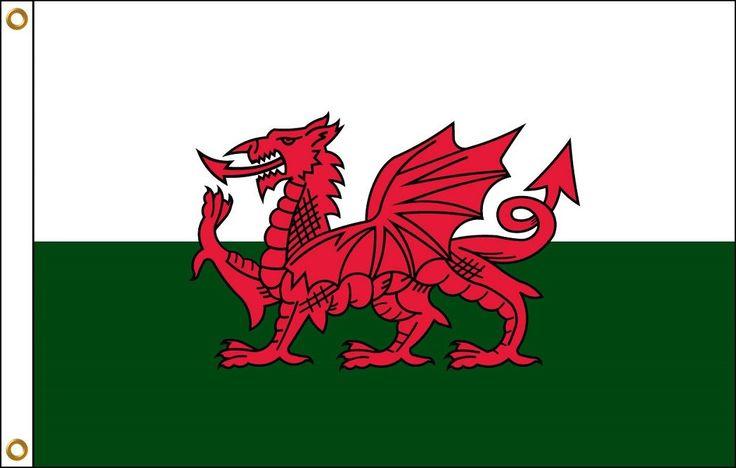 Wales Flag | 3' x 5'