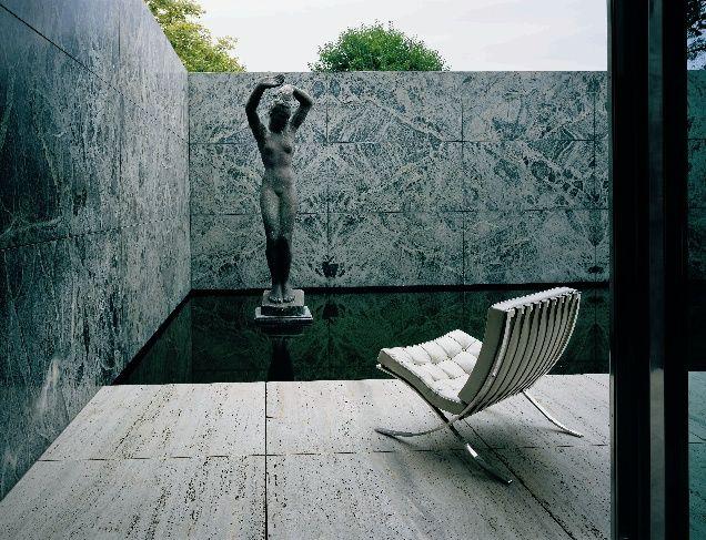 Mies van der Rohe — Barcelona Pavilion