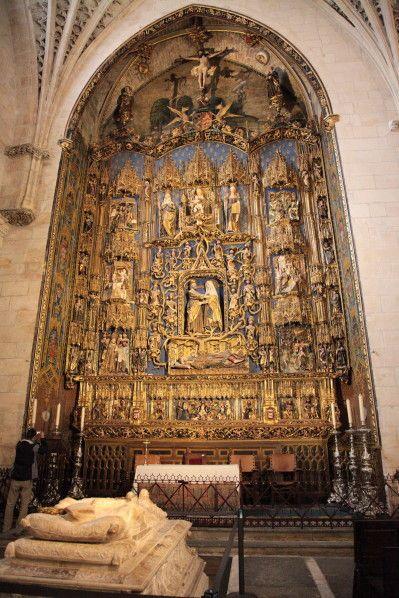 L'arbre de Jessé de la cathédrale Sainte-Marie de Burgos (Le blog de jean-yves cordier).