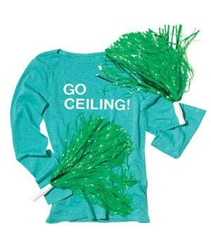 Ceiling fan (get it)  :) and other last minute costume ideas!
