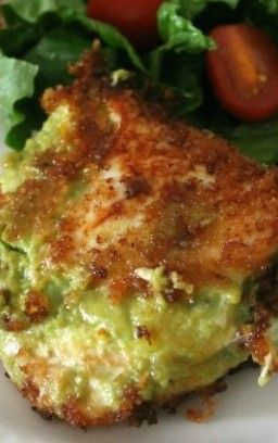 Guacamole Stuffed Chicken