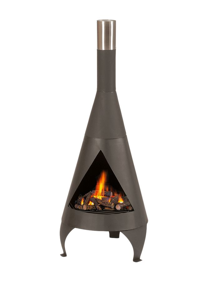 Small Chiminea from Eclectic Outdoor on Gilt