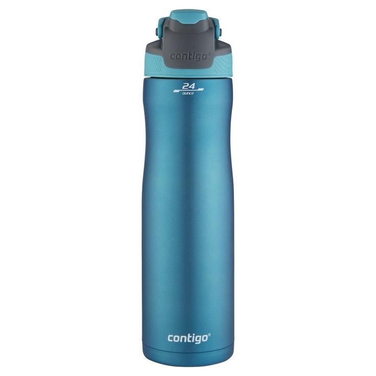 59ebde578d Steel Water Bottle: Contigo Autoseal Stainless Steel Water Bottle