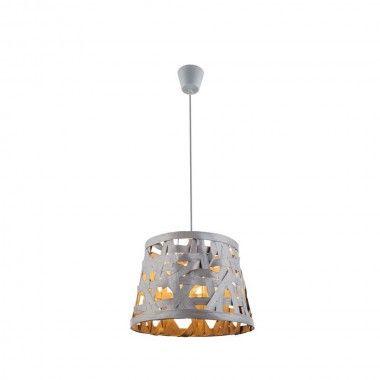 Superb Glanzvolle flg Pendel H nge Lampe Grau Esstisch Globo SALVADOR u Bild