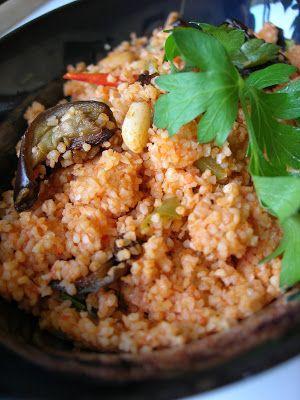 50 best food turkish images on pinterest turkish food recipes almost turkish recipes eggplant bulgur pilaf patlcanl bulgur pilav forumfinder Choice Image