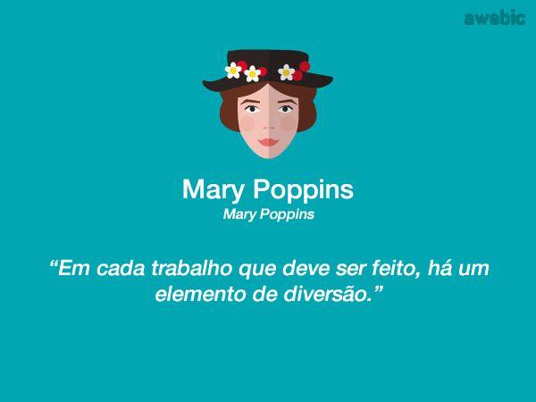Citação #MaryPoppins: