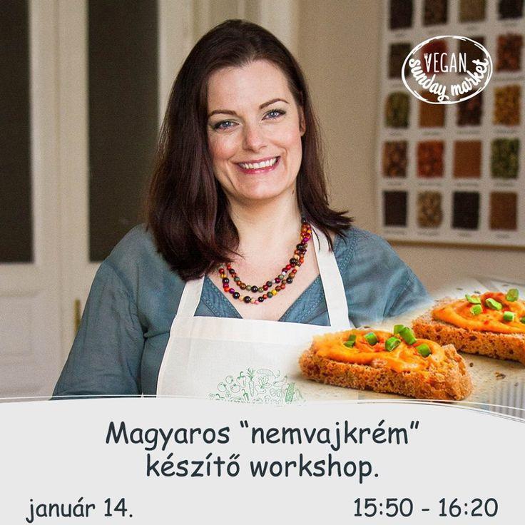 Vegán vajkrém készítő workshop az Anker'tben (vegán piac/ ingyenes)