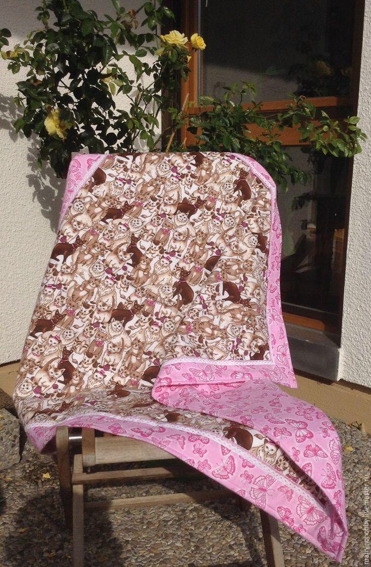 Шьем двустороннее байковое одеялко за 20 минут - Ярмарка Мастеров - ручная работа, handmade, tutorial