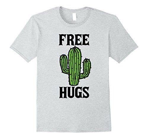 Mens Funny T-Shirt Free Hugs Regular Fit 100/% Cotton Tee