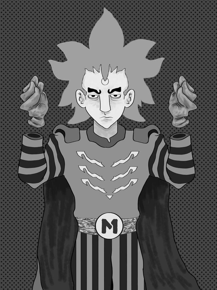 https://flic.kr/p/21o9MgW | King Magnetar (Victor Mesmero) B/W