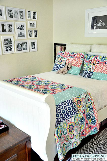 """Beautiful for a girl outgrowing her """"little girl"""" room..."""