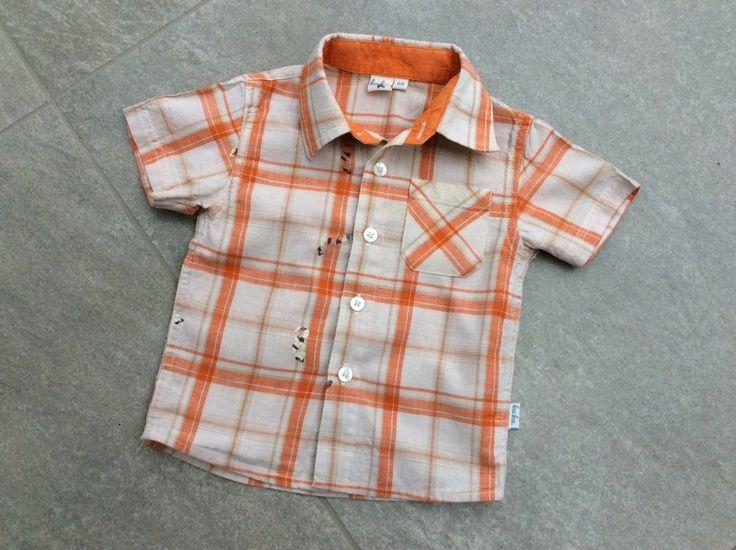 Mein Süßes Kuku Kurzarm-Hemd orange-beige-kariert mit Salamandern / Gr. 68 von KuKu! Größe 68 für 4,00 €. Schau´s dir an: http://www.mamikreisel.de/kleidung-fur-jungs/kurzarm-hemden/33119658-susses-kuku-kurzarm-hemd-orange-beige-kariert-mit-salamandern-gr-68.