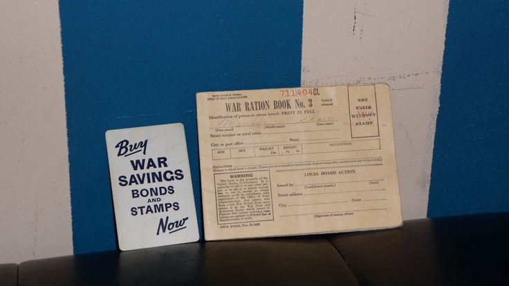 War Ration Book (Includes Stamps)