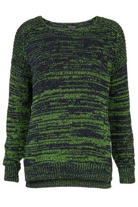 Knitted Fluro Twist Jumper