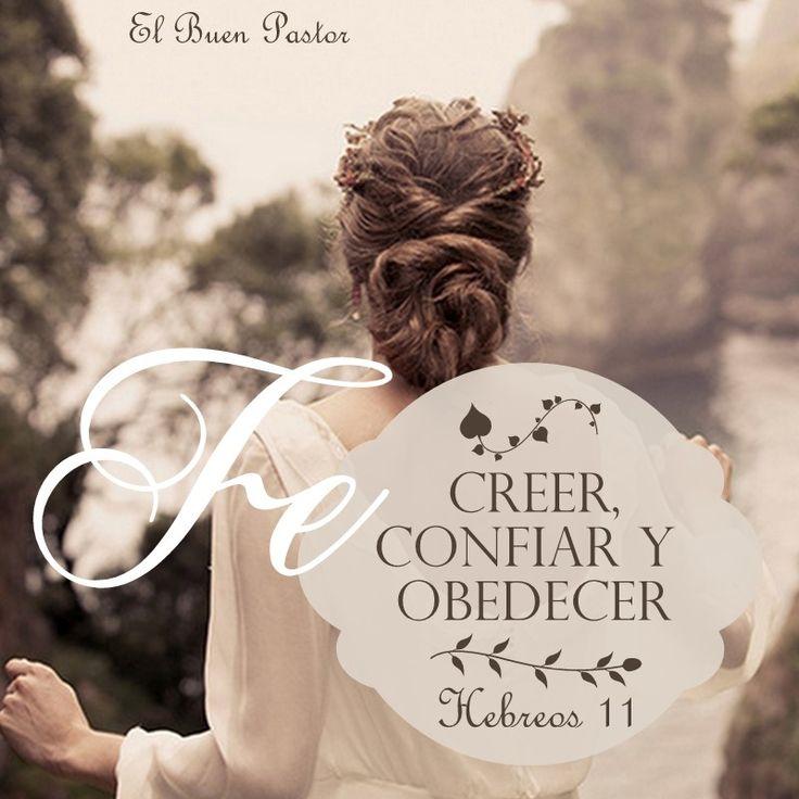 Hebreos 11: 1 Es, pues, la fe la certeza de lo que se espera, la convicción de lo que no se ve.♔