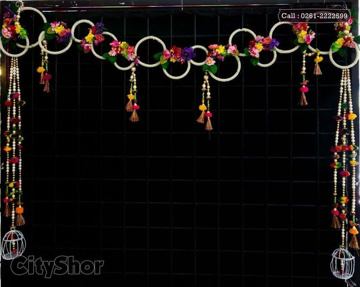 Use glow sticks to make a design to hang outside diir