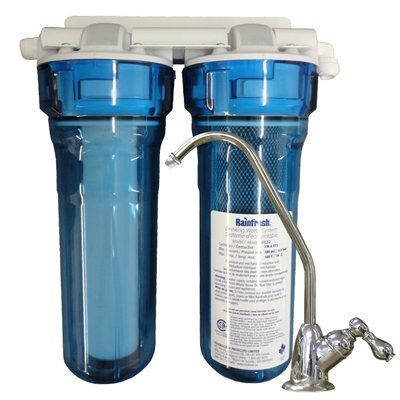 Rainfresh 13-1/2-in Under Sink Complete System