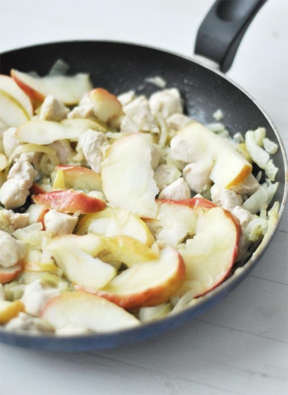 Almás-hagymás csirke | Csak a Puffin ad Neked erőt
