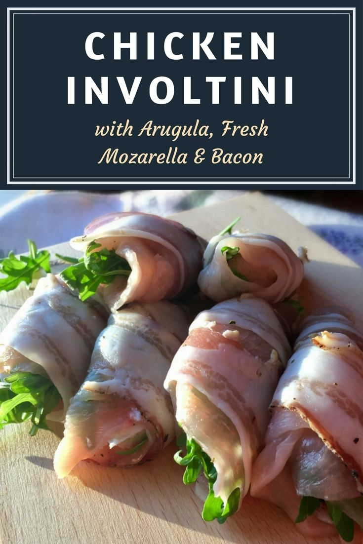 Chicken Involtini - Chicken Rolls ready in less than 30 minutes!