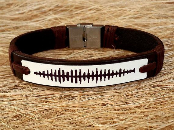 Wedding Gift Idea Dad Gift İdeaMens Leather Bracelet by CanLeather