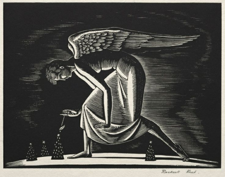 Angel, 1926. Rockwell Kent. Collection CMA