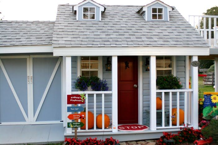cutest little things: A little boy's playhouse revealed