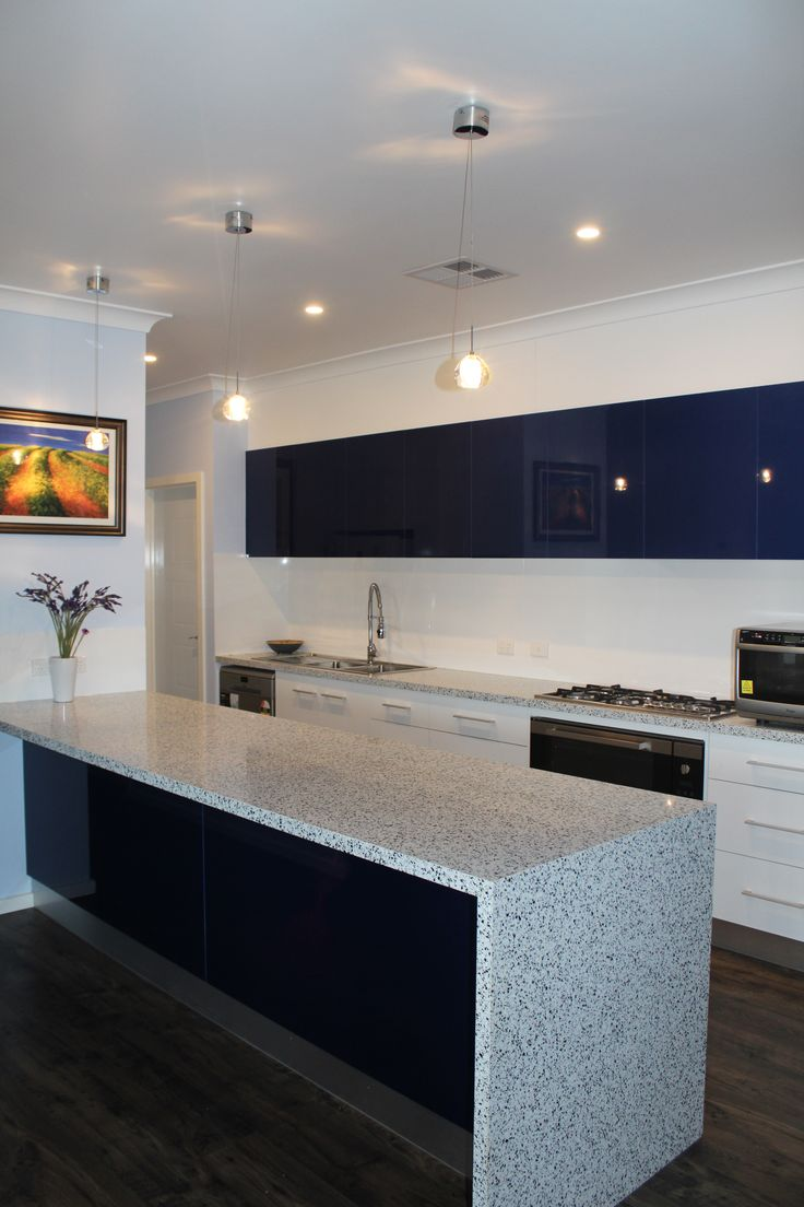 """Benchtops - Trend Surfaces """"White Blue"""" Panels - Formica ..."""