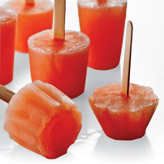 ... pop recipes and molds cooking channel cantaloupe and campari ice pops