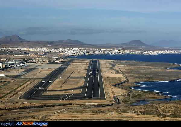 Fuerteventura Airport. Gateway to the lovely holiday island