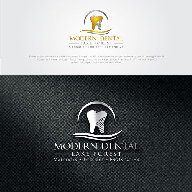 Design a luxurious, sleek and sophisticated logo for a Chic and Modern Dental office by athletic_design