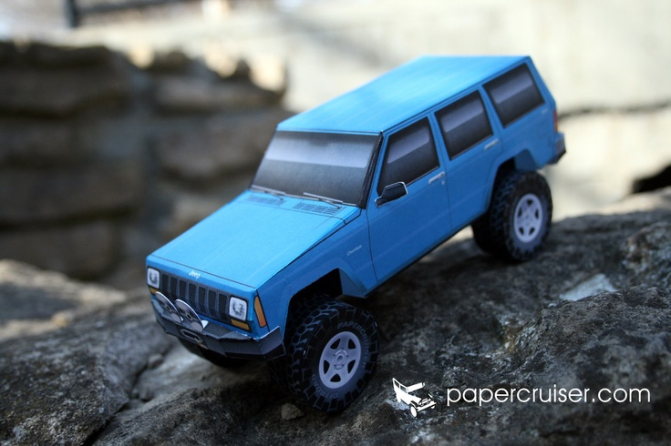 images  papercruisers paper models  pinterest honda  jeep rubicon