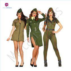 disfraces divertidos de mujeres militares para grupos tiendau