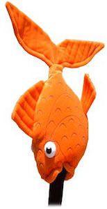 Gold Fish Golf Club Head Cover