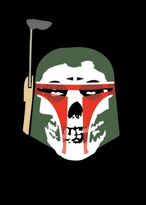 Boba Misfetts Sticker