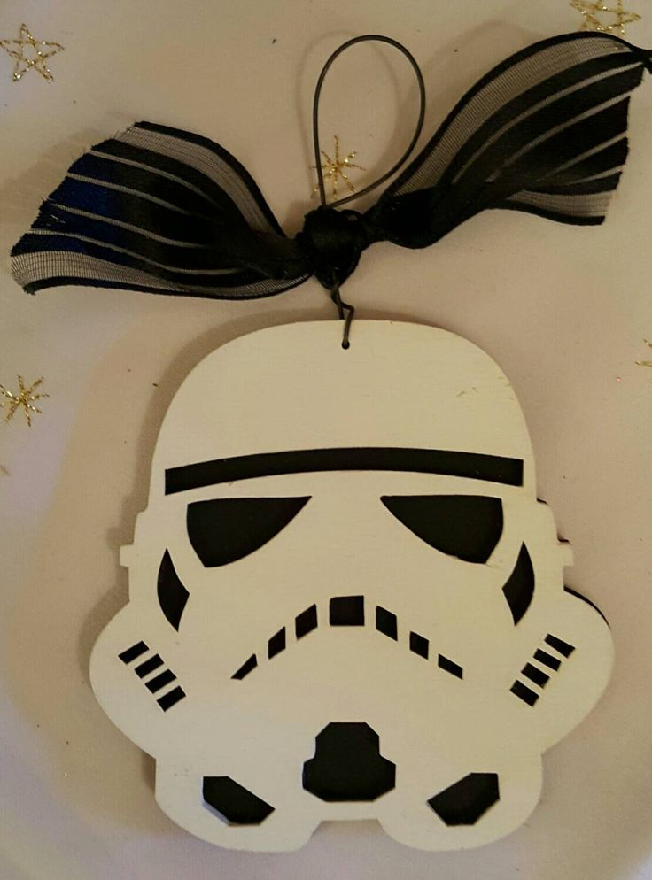 A personal favorite from my Etsy shop https://www.etsy.com/listing/254181464/stormtrooper-christmas-ornament