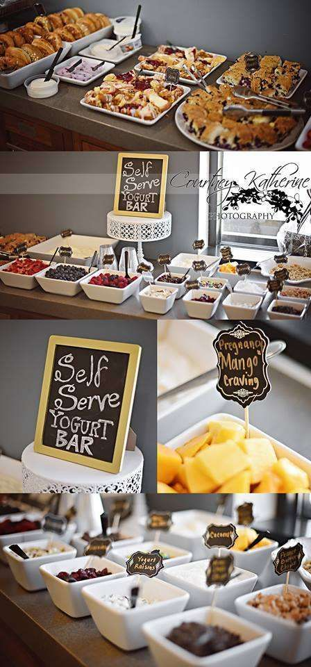 Black, White & Gold Baby Shower Party Ideas | Photo 5 of 15