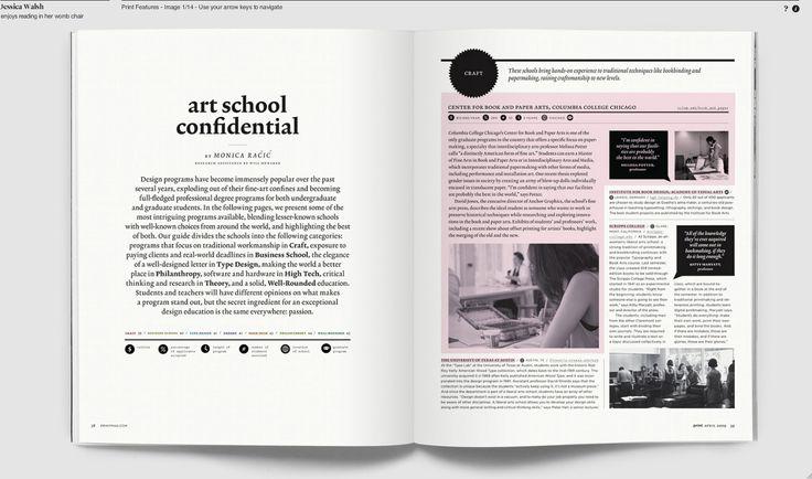 Jessica Walsh. Editorial design for Print magazine (1)