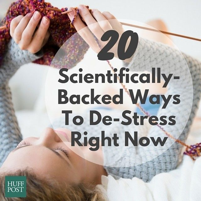 Stress is inevitable-but it doesn't have to ruin your day! This article from the Huffington Post provides 20 quick and easy ways to de-stress quickly. Give 'em a try and let us know if it works.